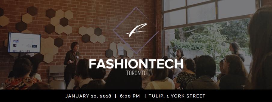 Announcing FashionTech Toronto